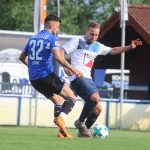 Markus Lemberger gegen Keanu Staude von Arminia Bielefeld - Erste Mannschaft