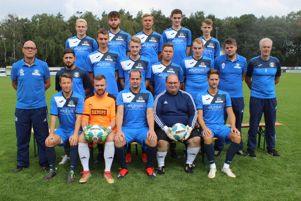 Zweite Mannschaft Viktoria Rietberg Saison 2019-2020